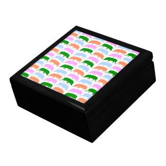 Multicoloured Hogs Pink Blue Green Orange Gift Box