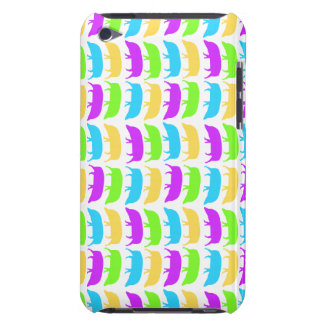 Multicoloured Hogs Yellow Green Purple Blue iPod C iPod Touch Covers