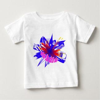 Multicoloured Manchester explosion Infant T-Shirt