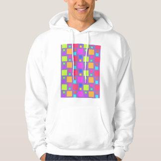 Multicoloured Squares 2011 Hoodie