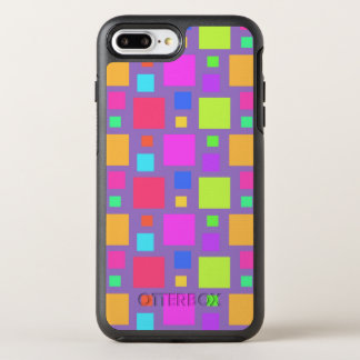 Multicoloured Squares 2011 OtterBox Symmetry iPhone 8 Plus/7 Plus Case