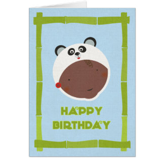 Multicultural Birthday Card