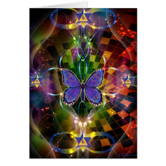 Multidimensional Transformation - Sacred Geometry Card