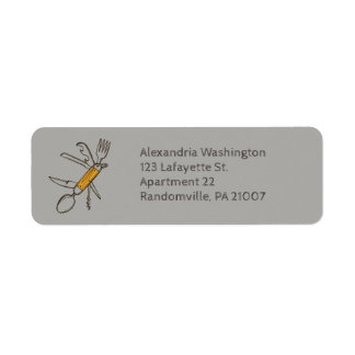 Multifunction Tool Gadget Return Address Return Address Label