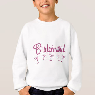 MultiMartini-Bridesmaid-Pink Sweatshirt