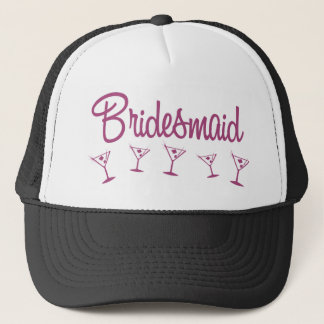 MultiMartini-Bridesmaid-Pink Trucker Hat