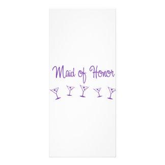 MultiMartini-MaidHonor-Purp Rack Cards