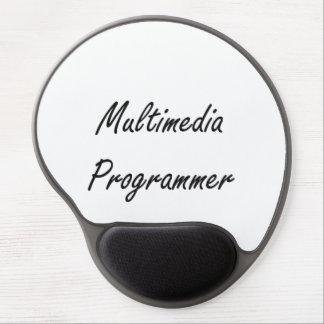 Multimedia Programmer Artistic Job Design Gel Mouse Pad