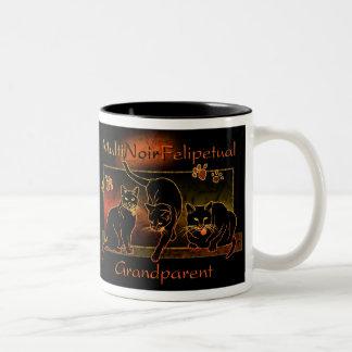 MultiNoirFelipetual Grandparent Mug: Black Two-Tone Mug
