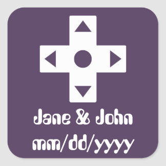 Multiplayer Mode in Purple Sticker