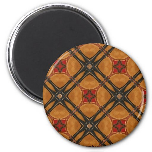Multiple Abstract Designed Products Refrigerator Magnets