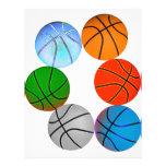 Multiple Basketballs Custom Flyer