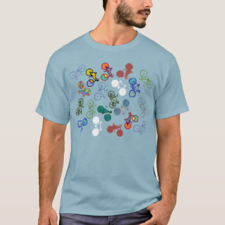 multiple bicycles T-Shirt