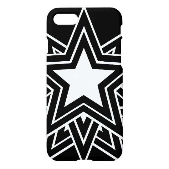 Multiple Black Star iPhone 7 Case