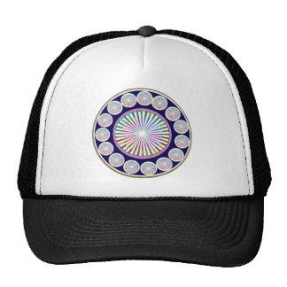 Multiple CHAKRA  -  Sparkle n Live Mandala Cap