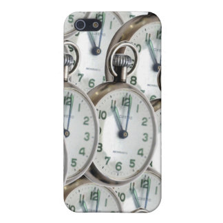 Multiple Clock Faces iPhone 5/5S Cover