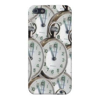 Multiple Clock Faces iPhone 5 Cases