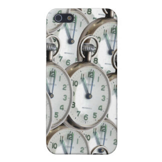 Multiple Clock Faces iPhone 5 Cover