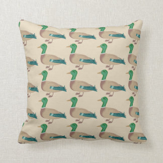 Multiple Ducks Throw Pillow