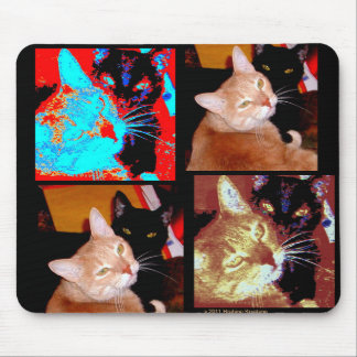 MULTIPLE EXPOSURE CATS MOUSEPADS
