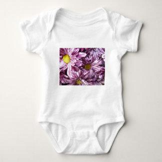 Multiple Flower Close up Baby Bodysuit