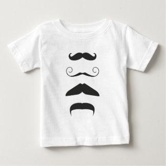 Multiple Moustache Baby T-Shirt