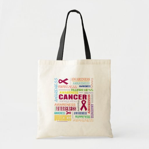 Multiple Myeloma Awareness Collage Bags