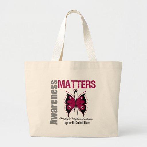 Multiple Myeloma Awareness Matters Tote Bag