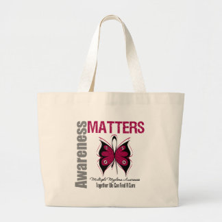 Multiple Myeloma Awareness Matters Jumbo Tote Bag