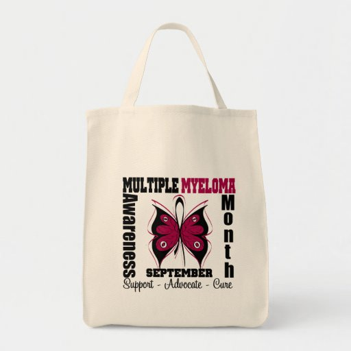 Multiple Myeloma Awareness Month Butterfly Bags