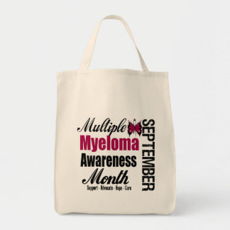 Multiple Myeloma Awareness Month Commemorate Bags