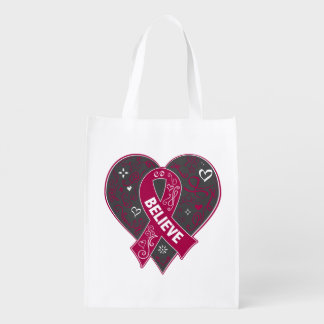 Multiple Myeloma Believe Ribbon Heart