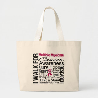 Multiple Myeloma Cancer Awareness Walk Canvas Bags