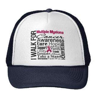 Multiple Myeloma Cancer Awareness Walk Hat