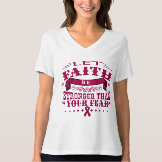 Multiple Myeloma Faith Stronger than Fear.png Shirts