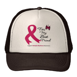 Multiple Myeloma For My Best Friend Mesh Hat