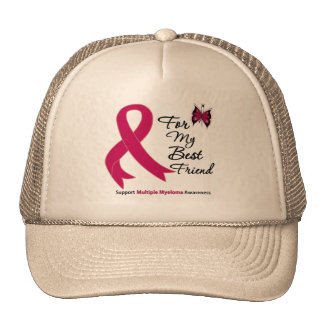 Multiple Myeloma For My Best Friend Mesh Hats