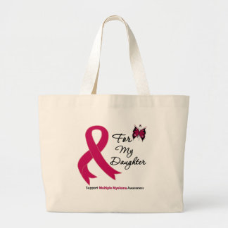 Multiple Myeloma For My Daughter Jumbo Tote Bag