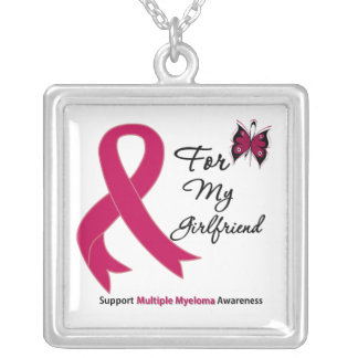 Multiple Myeloma For My Girlfriend Necklaces