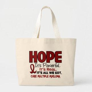 Multiple Myeloma HOPE 1 Jumbo Tote Bag