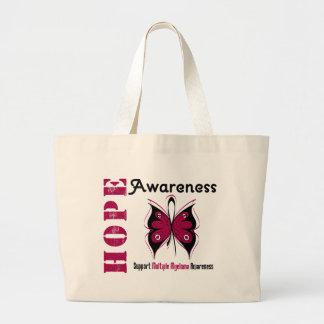 Multiple Myeloma Hope Awareness Canvas Bag