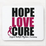 Multiple Myeloma Hope Love Cure Mouse Pad