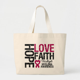 Multiple Myeloma Hope Love Faith Bag