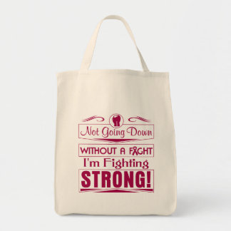 Multiple Myeloma I Am Fighting Strong Grocery Tote Bag
