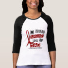 MULTIPLE MYELOMA I Wear Burgundy For My Dad 37 T-Shirt