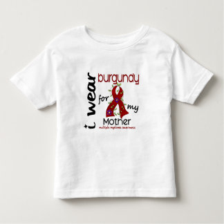 Multiple Myeloma I WEAR BURGUNDY FOR MY MOTHER 43 T Shirt