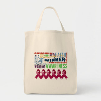 Multiple Myeloma Inspirational Words Bags