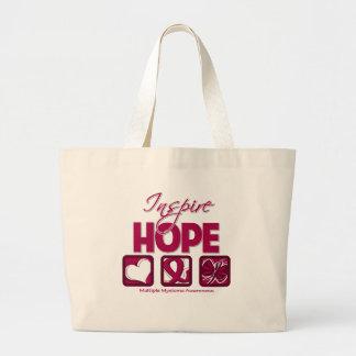 Multiple Myeloma Inspire Hope Jumbo Tote Bag