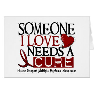 Multiple Myeloma NEEDS A CURE 1 Card