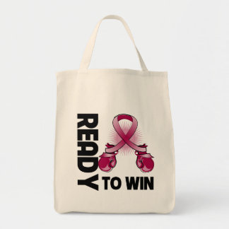 Multiple Myeloma Ready To Win Grocery Tote Bag